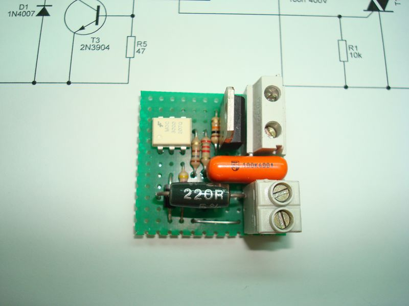 Make your own solid state relay embedtronics for the