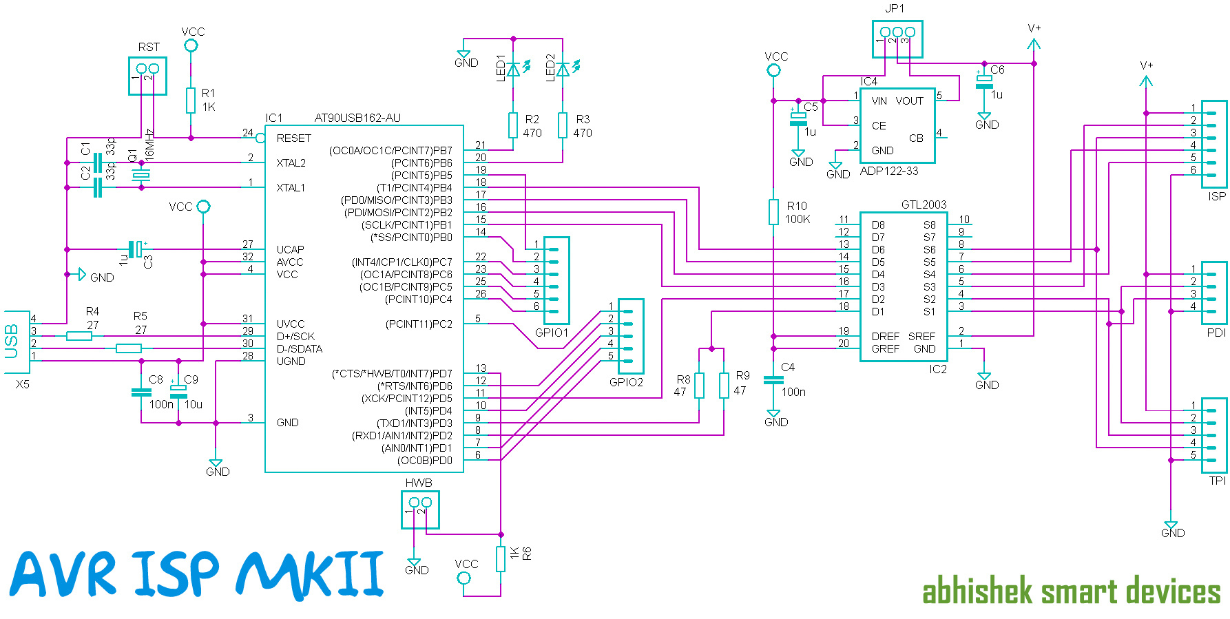 usb controller schematic image 5